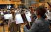 The view of the session from the bassoons