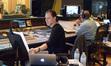 Scoring mixer Richard Breen refers to the score