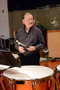 Timpanist Don Williams