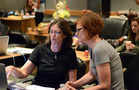Music editor Angie Rubin and ______