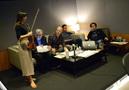 Concertmaster Serena McKinney, librarian and booth reader Mark Graham, composer Theodore Shapiro, music supervisor Gabe Hilfer, and music editor Ron Webb