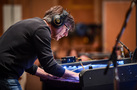 Composer/conductor Thomas Newman makes edits to his score