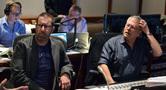 Composers Chris Lennertz and Alan Menken
