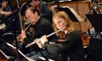 Dan Higgins and Geri Rotella perform on flute