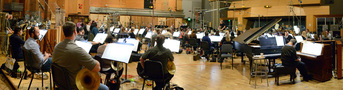 The Hollywood Studio Symphony performs a cue from <i>Ice Age: Collision Course</i>