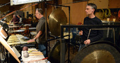Percussionists Alan Estes and Wade Culbreath