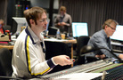 Supervising orchestrator Kevin Kaska and scoring mixer Simon Rhodes