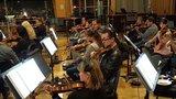 The violins performing on <em>The Magnificent Seven</em>