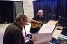 Composer Carlo Siliotto with guitarist George Doering