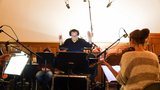 Composer Carlo Siliotto conducting <i>Miracles from Heaven</i>