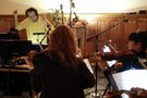 Composer Carlo Siliotto conducts his score to <i>Miracles from Heaven</i>