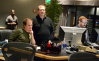 Orchestrator Kazimir Boyle, orchestra contractor Peter Rotter, and score mixer Phil McGowan