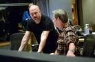 Composer Trevor Morris and recording mixer Jim Hill discuss a cue
