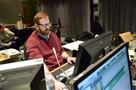 Scoring mixer Phil McGowan