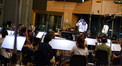Composer and conductor Chris Lennertz with the Hollywood Studio Symphony