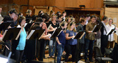 The choir records a cue from <i>Star Trek Beyond</i>
