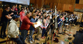 A 70-person choir performs on <i>Star Trek Beyond</i>