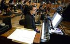 Mark Gasbarro on piano