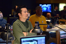 Director Justin Lin listens in on the sessions