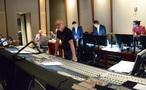 Scoring mixer Brad Haehnel listens to the mix