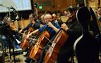 Cellists Steve Erdody and Armen Ksajikian