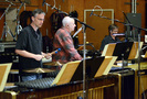 Percussionists Wade Culbreath, Dan Greco, and Brian Kilgore