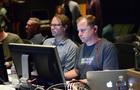 Music editor Joe Bonn and ProTools recordist Kevin Globerman