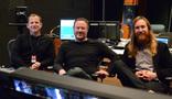 ProTools Recordist Kevin Globerman, scoring mixer Casey Stone, and mix recordist Jesse Johnstone