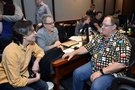 Directors Byron Howard and Rich Moore chat with Executive Producer John Lasseter