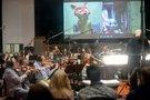 Tim Simonec conducts the Hollywood Studio Symphony on <em>Zootopia</em>