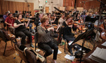 The violin section on <em>War for the Planet of the Apes</em>