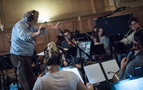 Nicholas Dodd conducting on <em>Alias Grace</em>