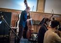 Ian Walker on bass