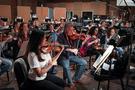 The violins perform on <em>Cars 3</em>