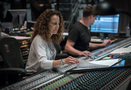 Producer Helen Nightengale and scoring mixer Adam Michalak