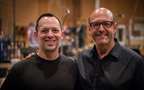 Scoring mixer Adam Michalak and composer Randy Kerber