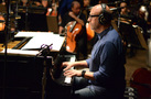 Composer Randy Kerber performs the piano on his score to <em>Cello</em>