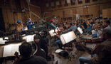 Ed Trybeck conducts the strings