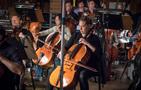 Vanessa Freebairn-Smith performs on cello