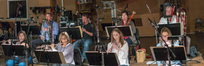 The woodwind section records a cue for <i>The Dark Tower</i>