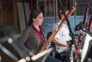 Rose Corrigan plays the bassoon