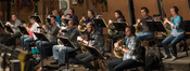 Composer Tom Holkenborg used a 12-piece French horn section on his score for <i>The Dark Tower</i>