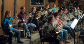 The French horn section records on <em>The Dark Tower</em>