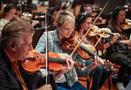 Violinist Katia Popov enjoys performing a cue