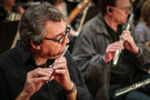 Steve Kujala performs on piccolo