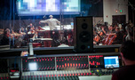 The view of the session from the console