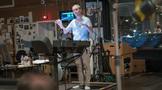 Composer Rolfe Kent conducts <em>Downsizing</em>