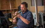 Trumpet player Rob Schaer