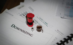 Even the coffee was downsized during the sessions for <i>Downsizing</i>