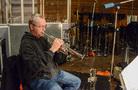 Trumpet player Jon Lewis